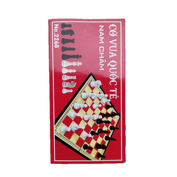 Cờ Vua Nam Châm Bàn Đỏ - Khổ To 2268 - Ảnh 4