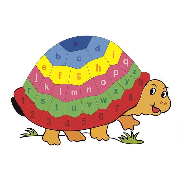 Tranh ghép con rùa