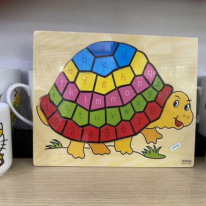 Tranh ghép con rùa - Ảnh 2