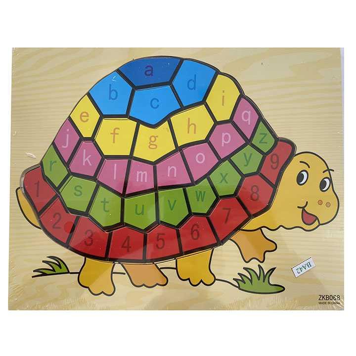 Tranh ghép con rùa - Ảnh 3