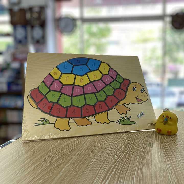 Tranh ghép con rùa - Ảnh 1