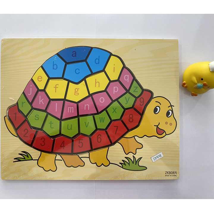 Tranh ghép con rùa - Ảnh 5