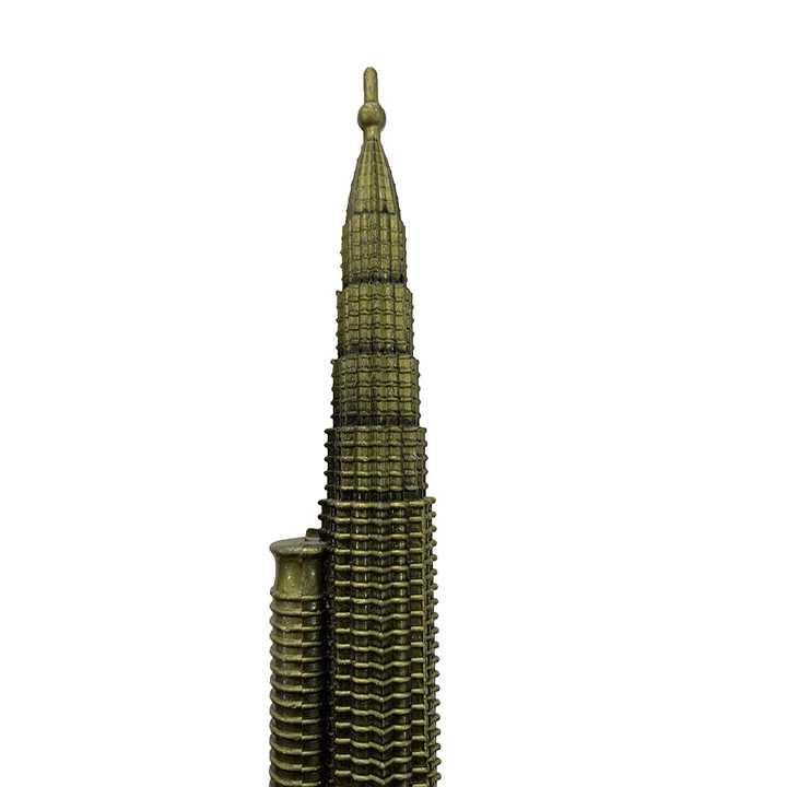 Quà lưu niệm Mô hình tháp đôi Petronas - biểu tượng của Malaysia - Ảnh 2