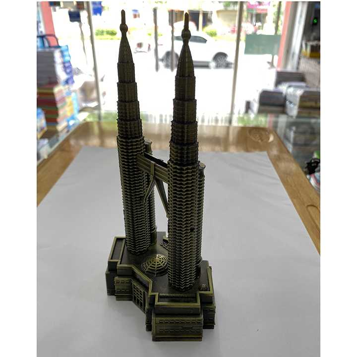 Quà lưu niệm Mô hình tháp đôi Petronas - biểu tượng của Malaysia - Ảnh 4
