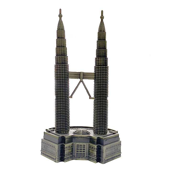 Quà lưu niệm Mô hình tháp đôi Petronas - biểu tượng của Malaysia - Ảnh 5