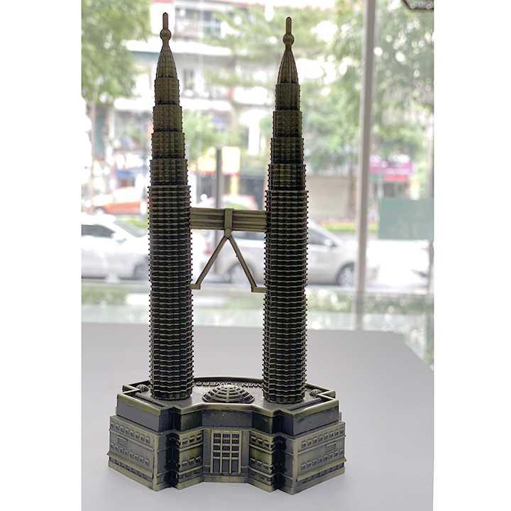Quà lưu niệm Mô hình tháp đôi Petronas - biểu tượng của Malaysia