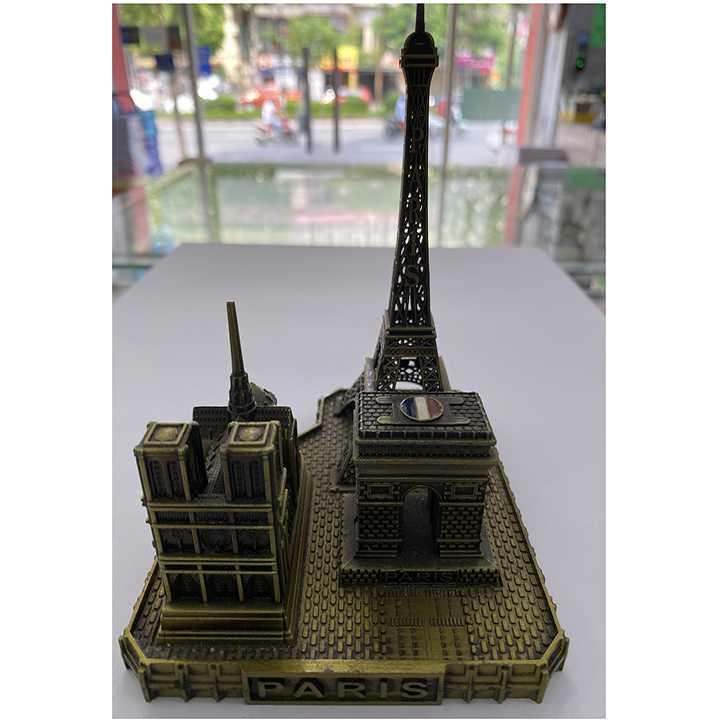 Đồ lưu niệm Mô hình bộ 3 công trình kiến trúc nổi tiếng Paris