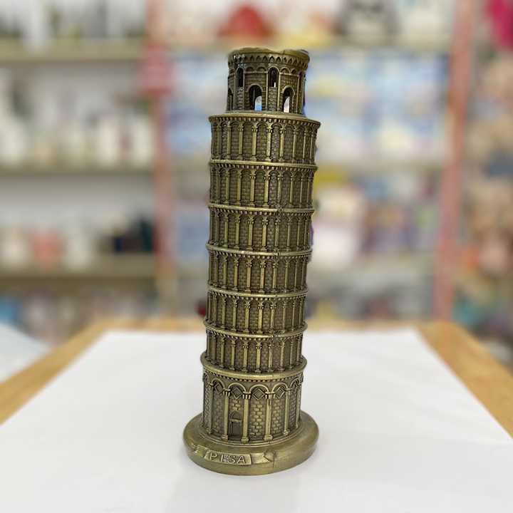 Quà Lưu Niệm Mô hình Tháp nghiêng Pisa Ý