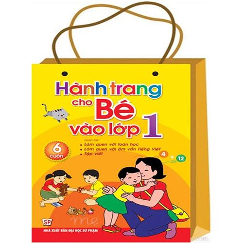 Hành Trang Cho Bé Vào Lớp Một ( Túi 6 Cuốn)