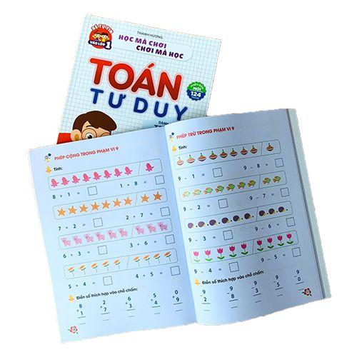 Học Mà Chơi, Chơi Mà Học - Toán Tư Duy Dành Cho Trẻ Em 4-6 Tuổi - Ảnh 4