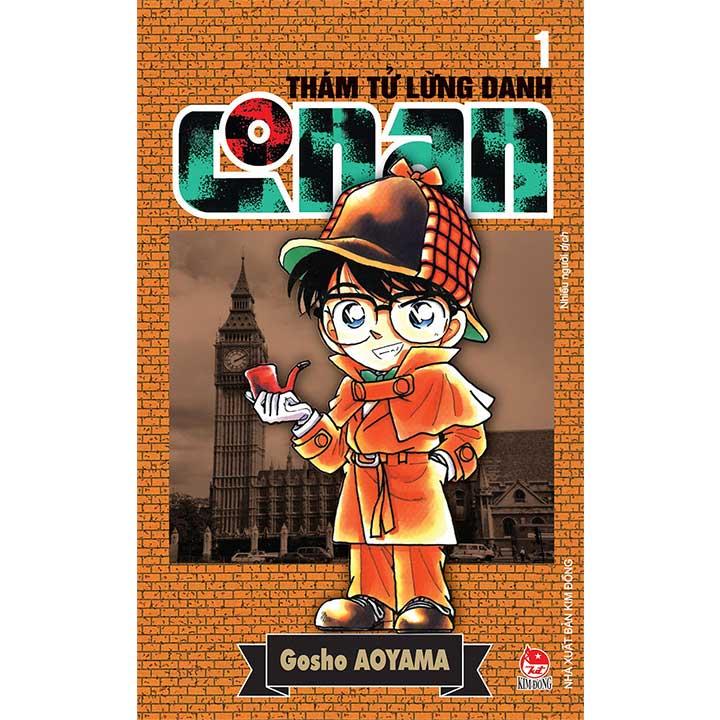 Conan thám tử lừng danh - (Tập 1 đến Tập 10)
