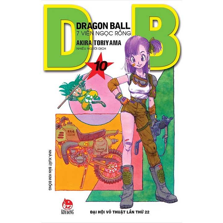 Dragon Ball - 7 Viên ngọc rồng Tập 10