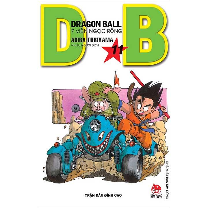 Dragon Ball - 7 Viên ngọc rồng Tập 11