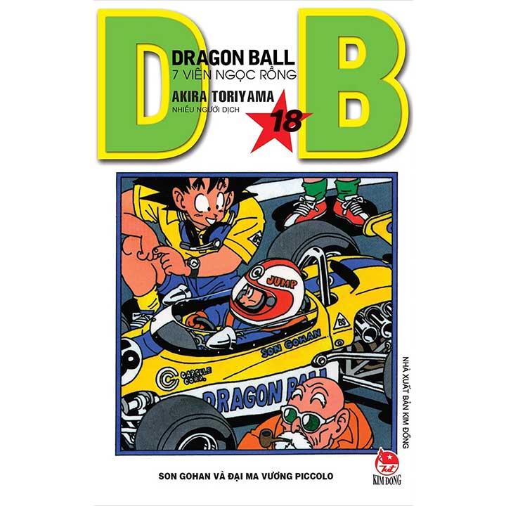 Dragon Ball - 7 Viên ngọc rồng Tập 18