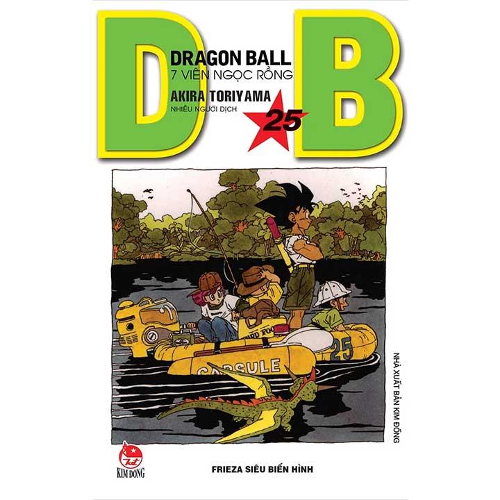 Dragon Ball - 7 Viên ngọc rồng Tập 25
