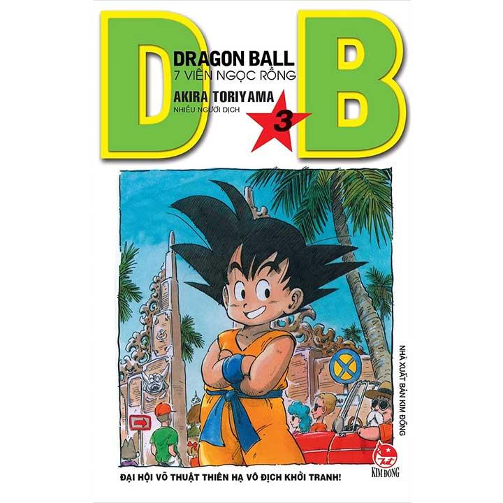 Dragon Ball - 7 Viên ngọc rồng Tập 3