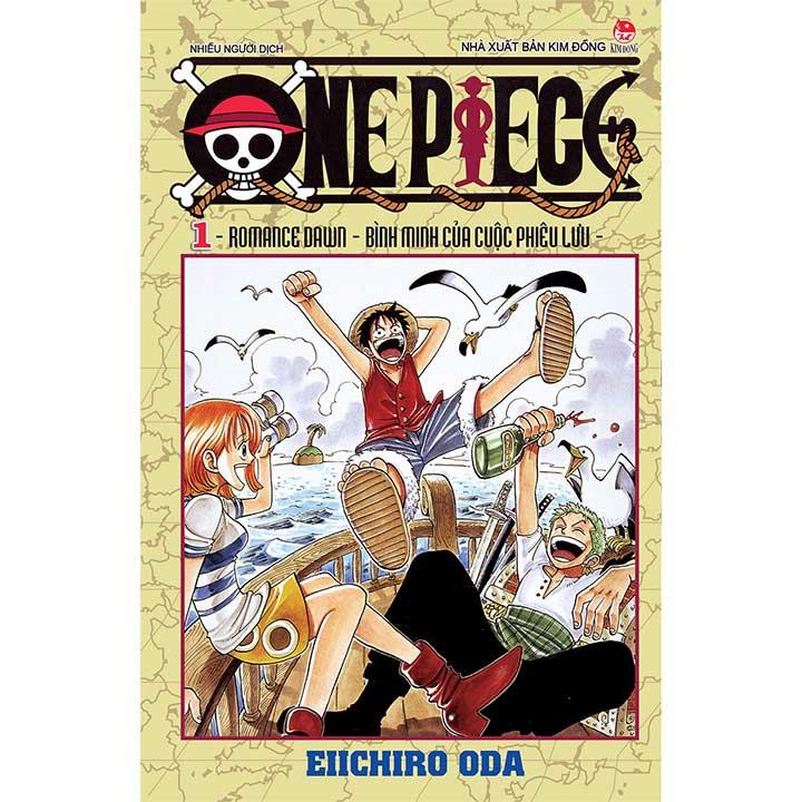 One Piece - (Tập 1 đến Tập 10)