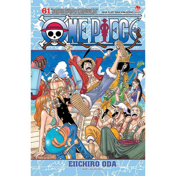 One Piece - Tập 61 (Bìa rời)