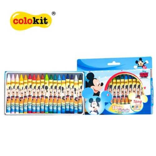 Bút sáp 24 màu Colokit Disney Mickey CR-C030/MI