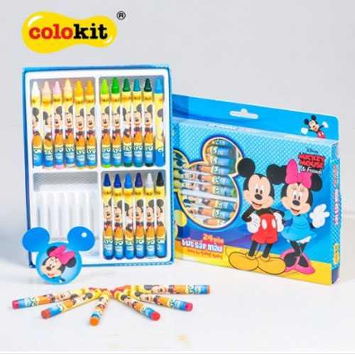 Bút sáp 24 màu Colokit Disney Mickey CR-C030/MI - Ảnh 1