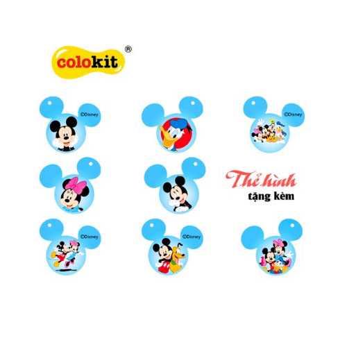 Bút sáp 24 màu Colokit Disney Mickey CR-C030/MI - Ảnh 2