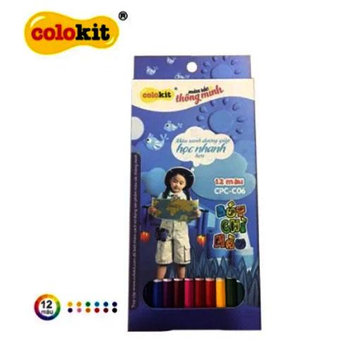 Bút chì 12 màu Colokit CPC-C06
