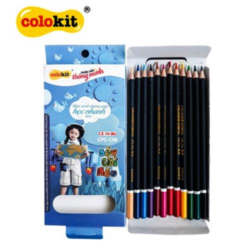 Bút chì 12 màu Colokit CPC-C06 - Ảnh 1