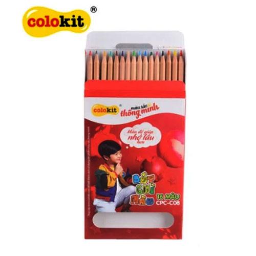 Bút chì 16 màu Colokit CPC-C08