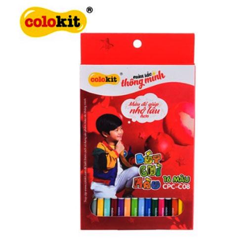 Bút chì 16 màu Colokit CPC-C08 - Ảnh 3
