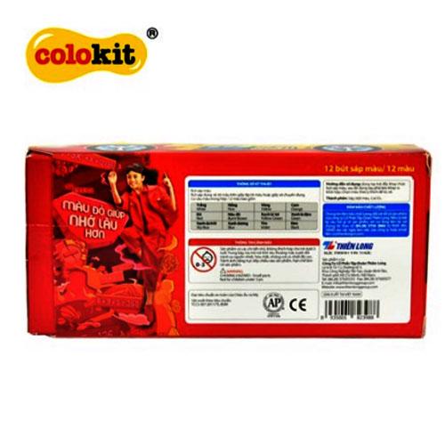 Sáp màu Colokit CR-C021 - Ảnh 3