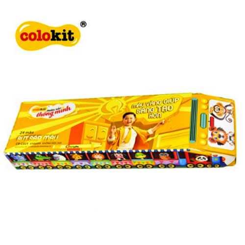 Bút sáp 12 màu Colokit CR-C022