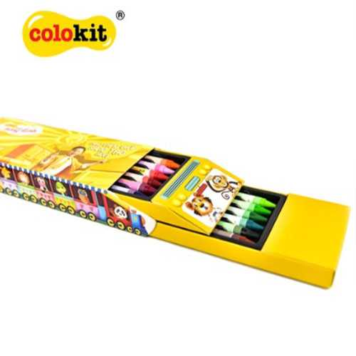 Bút sáp 12 màu Colokit CR-C022 - Ảnh 4