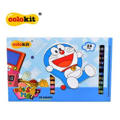 Sáp màu Colokit Doraemon CR-C06/DO - Ảnh 4