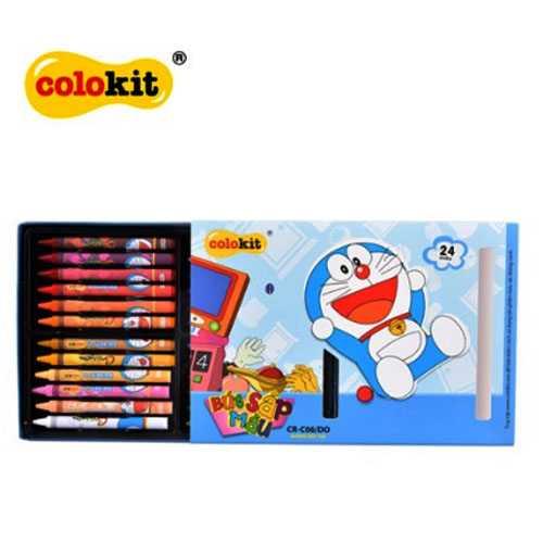 Sáp màu Colokit Doraemon CR-C06/DO - Ảnh 2
