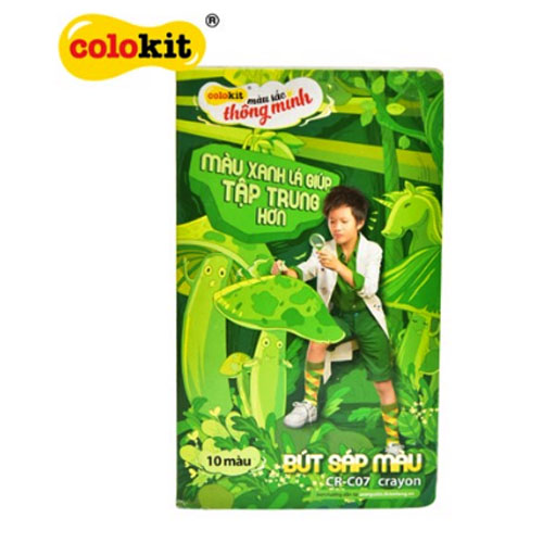 Sáp màu Colokit CR-C07