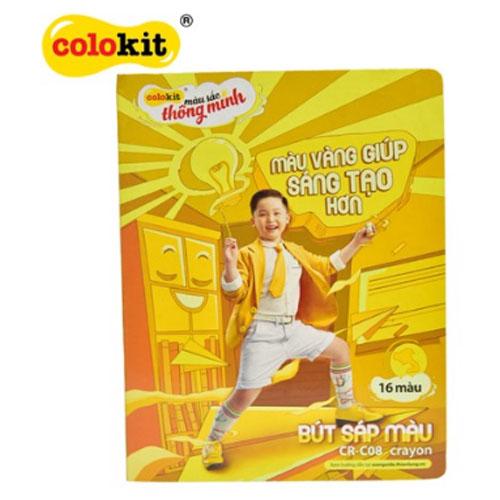 Sáp màu Colokit CR-C08 NEW