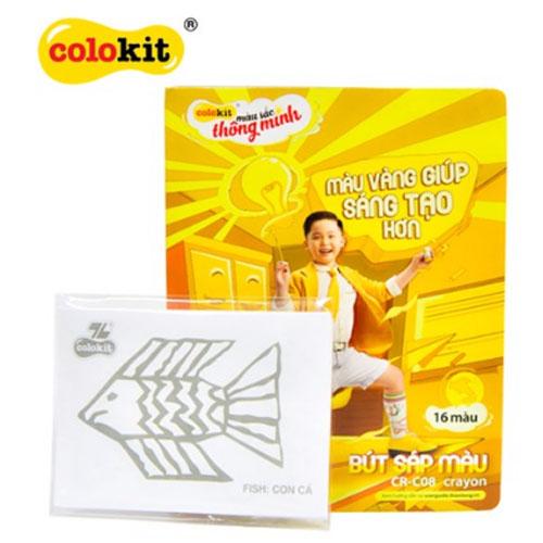Sáp màu Colokit CR-C08 NEW - Ảnh 3