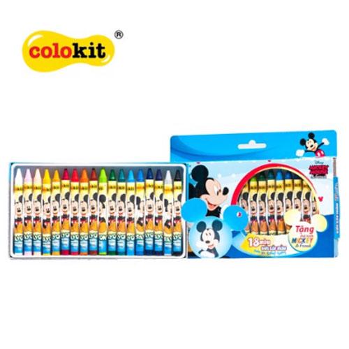 Bút sáp màu Colokit Disney Mickey CR-C028/MI - Ảnh 2