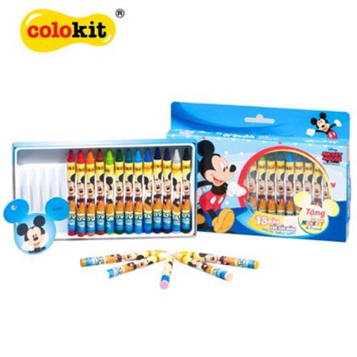 Bút sáp màu Colokit Disney Mickey CR-C028/MI