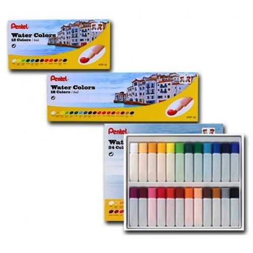 Màu Vẽ 18 Màu Hộp Giấy Pentel HTP-18 - Ảnh 1