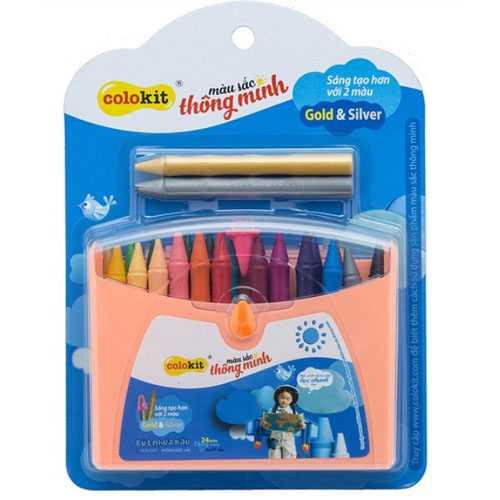 Bút nhựa màu Colokit PCR-C09 - Ảnh 1