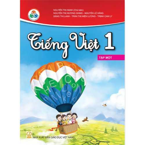 Tiếng Việt 1 - Tập 1 - Bộ Cùng Học