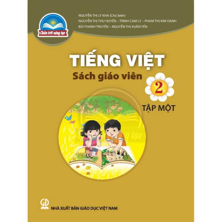 Tiếng Việt 2 - Tập 1 - SÁCH GIÁO VIÊN - Bộ Chân trời