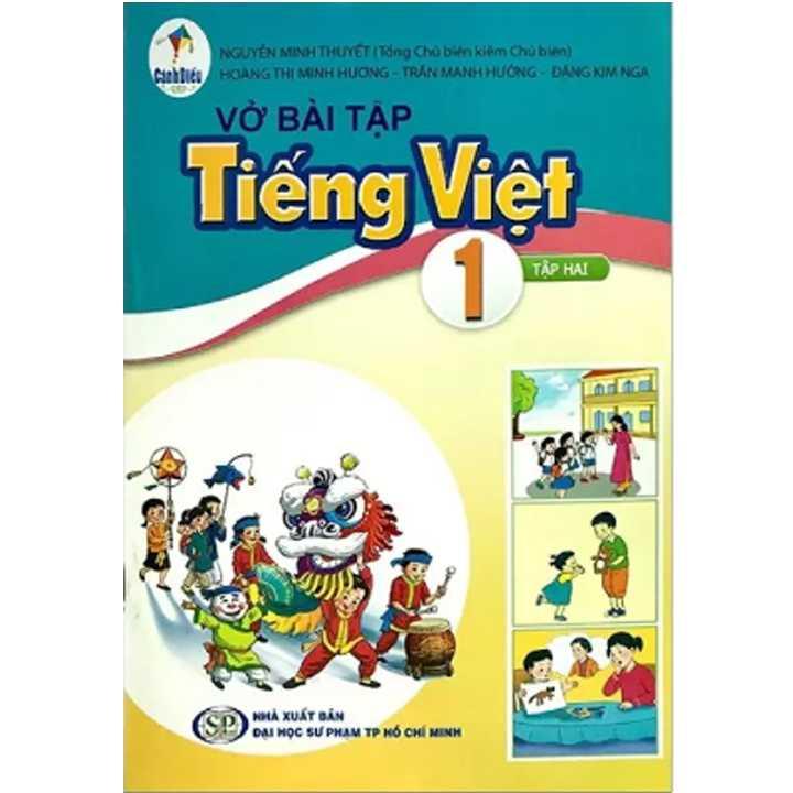 Vở Bài Tập Tiếng Việt 1 - Tập 2 - Cánh Diều
