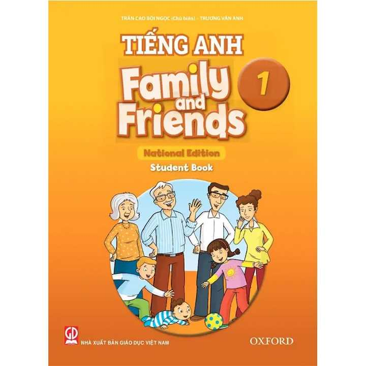 Tiếng Anh 1 - Family And Friends (National Edition) - Student book - Bộ Chân Trời