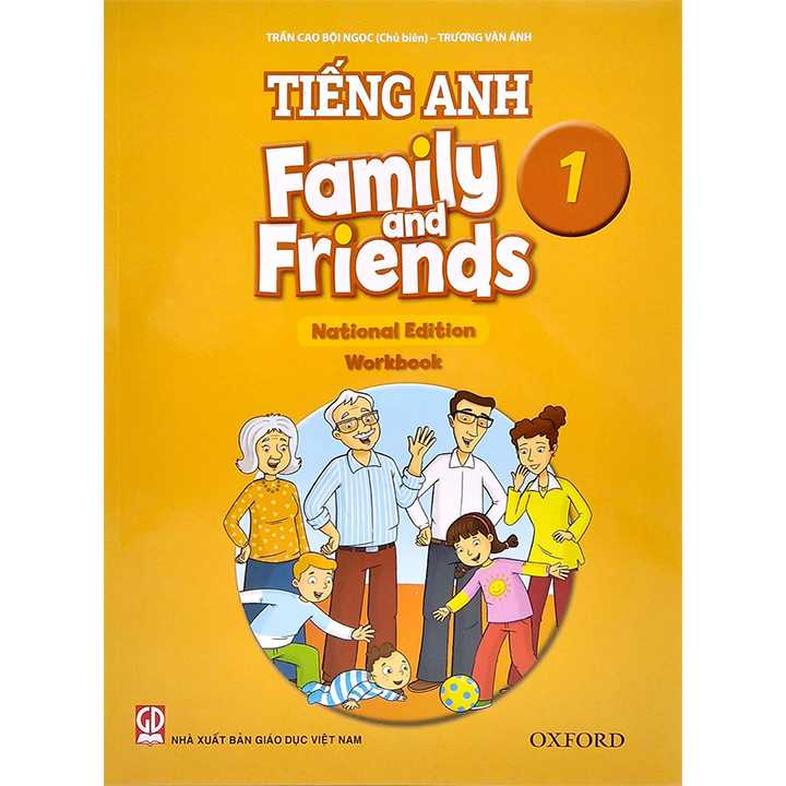 Tiếng Anh 1 - Family And Friends (National Edition) - Workbook - Bộ Chân Trời