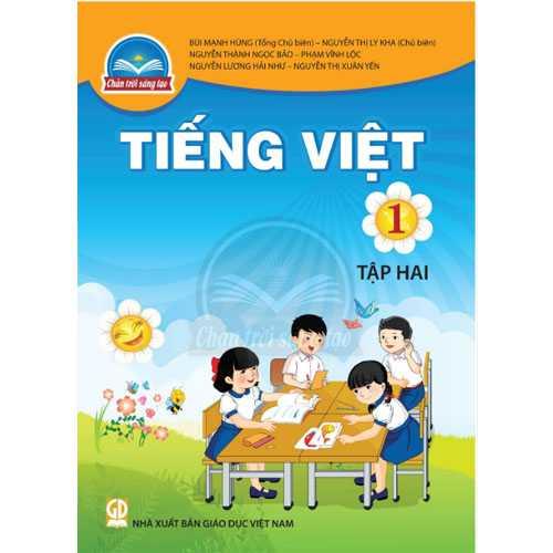 Tiếng Việt 1 - Tập 2 - Bộ Chân Trời