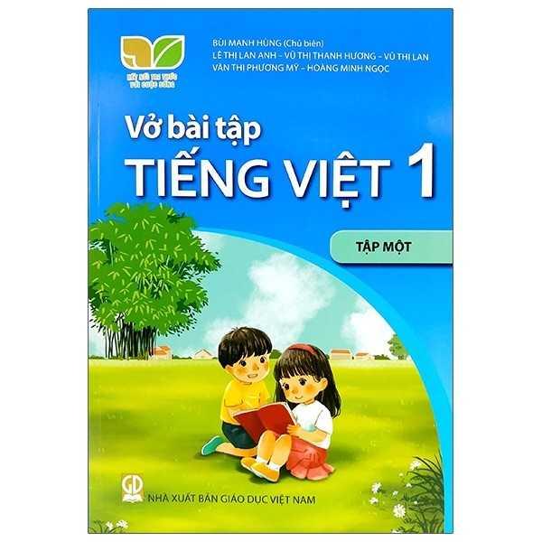 Vở Bài Tập Tiếng Việt 1 - Tập 1 - Bộ Kết Nối