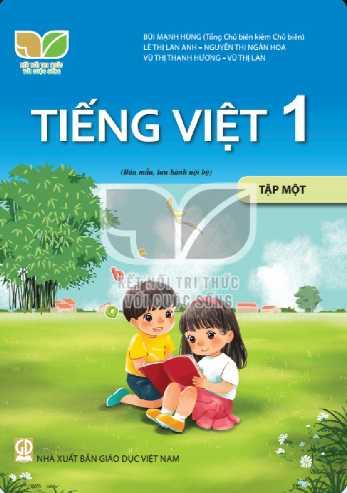 Tiếng Việt 1 - Tập 1 - Bộ Kết Nối - Ảnh 1