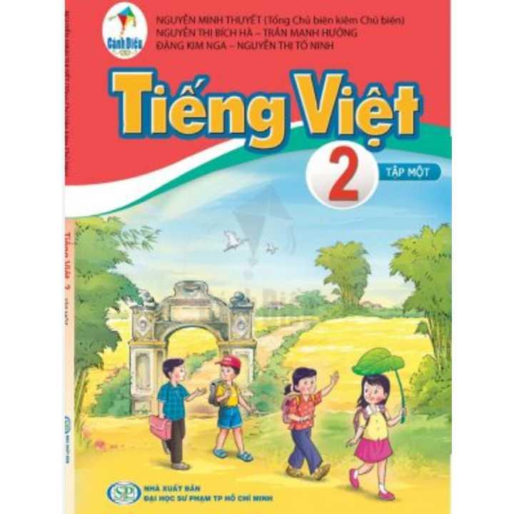 Tiếng Việt - Lớp 2 - Tập 1 - Bộ Cánh Diều